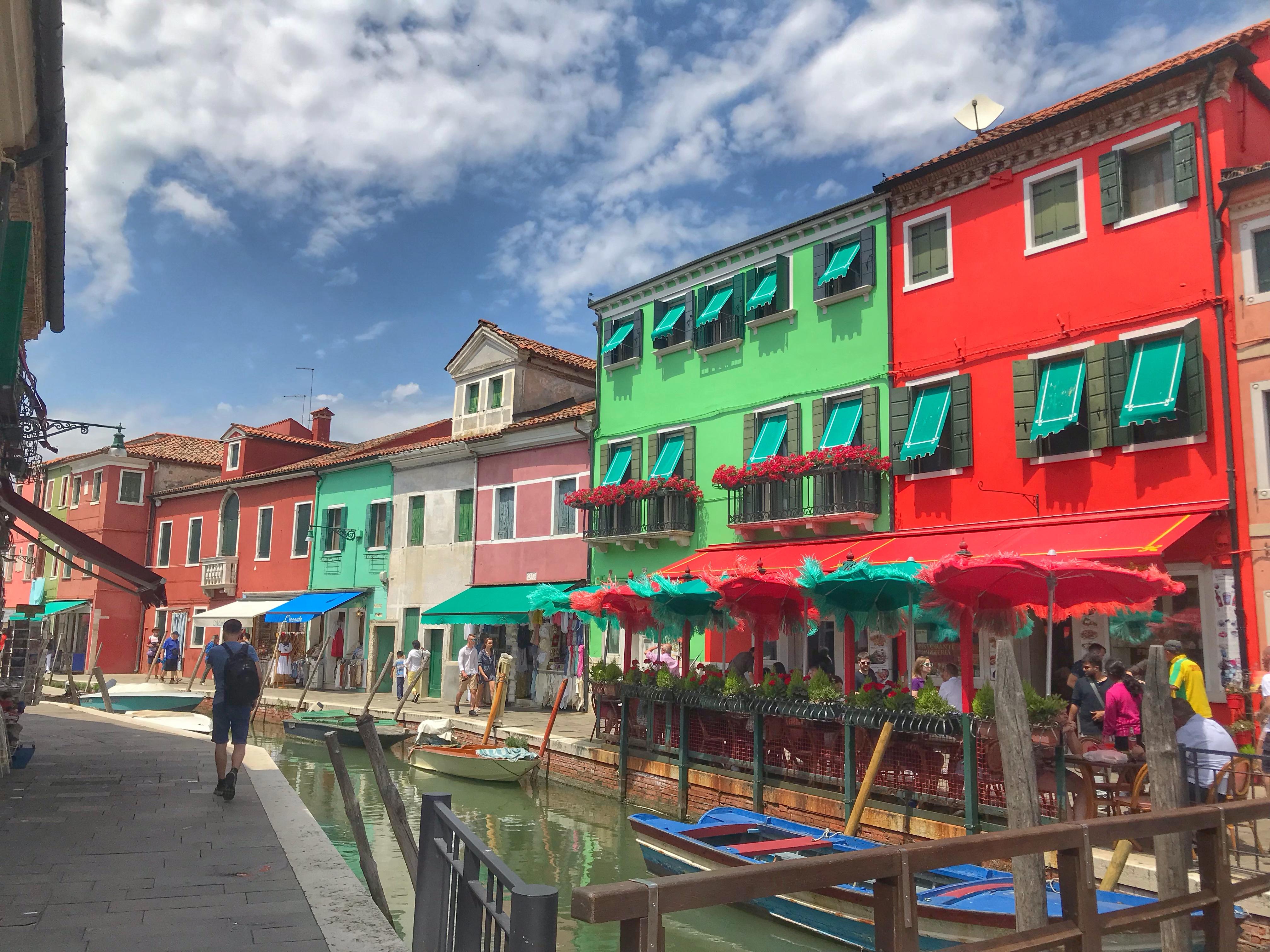 【ヴェネツィア旅行ブログ】カラフルな島巡り!2泊3日のイタリア旅行 #2